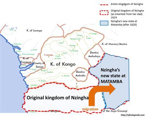 Or Of Nzingha Great Of Angola Heritage