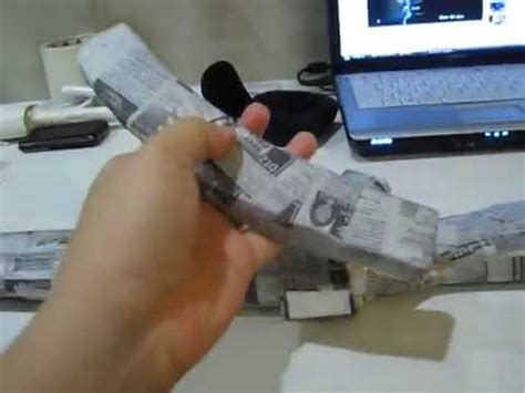 How To Make A Paper Mp5 - paper mp5 with paper mache