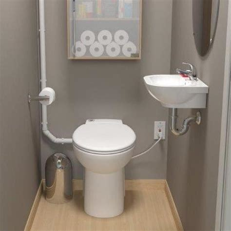 up toilets basement saniflo sanicompact self contained toilet system