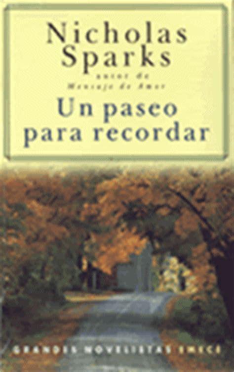 descargar gratis libro un paseo para recordar nicholas sparks pdf muchos libros juveniles un paseo para recordar nicholas sparks