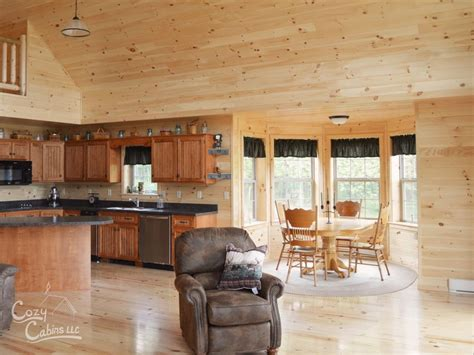 log home interior photos cozy cabin interior