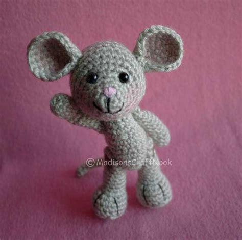 pattern crochet mouse morris the mouse free amigurumi pattern