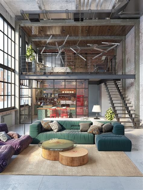 loft home decor join the industrial loft revolution