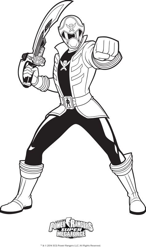 S Coloriage Power Rangers Ninjallll
