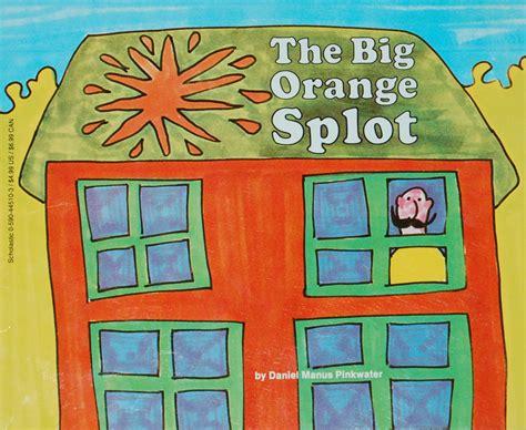 the big orange splot bookworm
