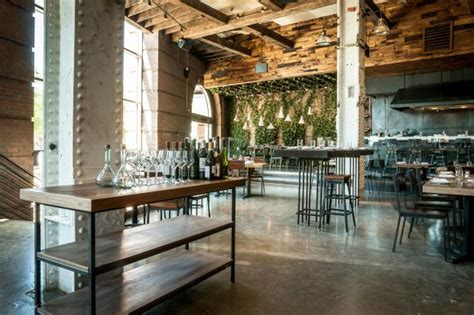 Extra Long Kitchen Island urban rustic restaurant style morphs into nordic chic