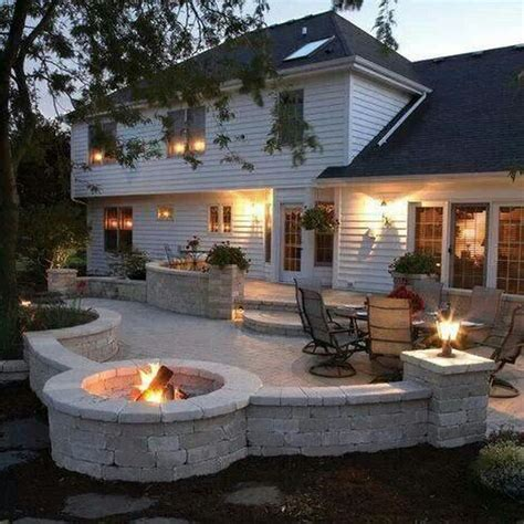 cool patios cool fire pit ideas memes