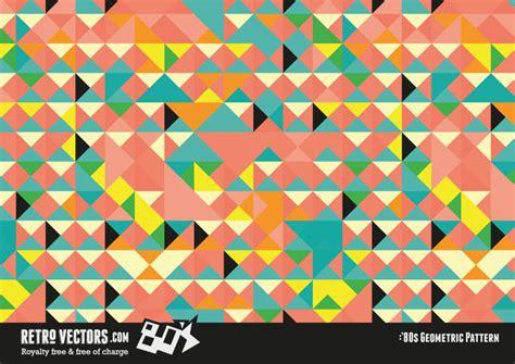 Wallpaper Design Home Decoration by Retro 80s Geomentric Pattern Vintage Vectors Royalty