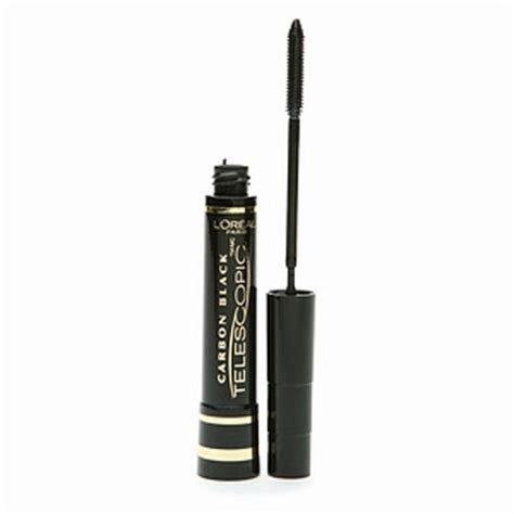 Mascara Loreal Telescopic Carbon Black makurishe l oreal telescopic mascara carbon black