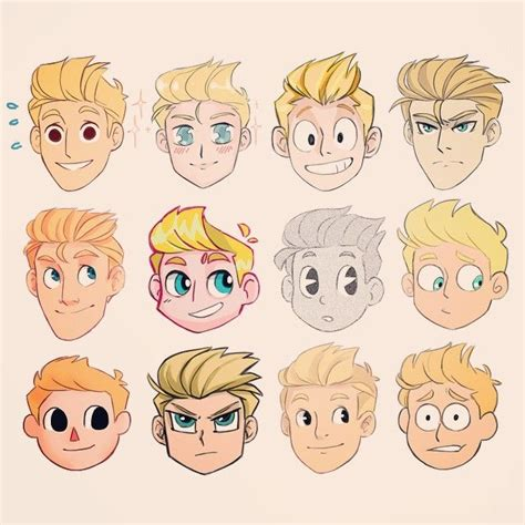 cartoon hairstyles male starscars the king called princecanary pinterest