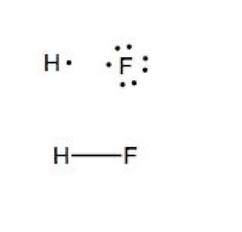 fluorine dot diagram how many bonds are in the lewis structure for