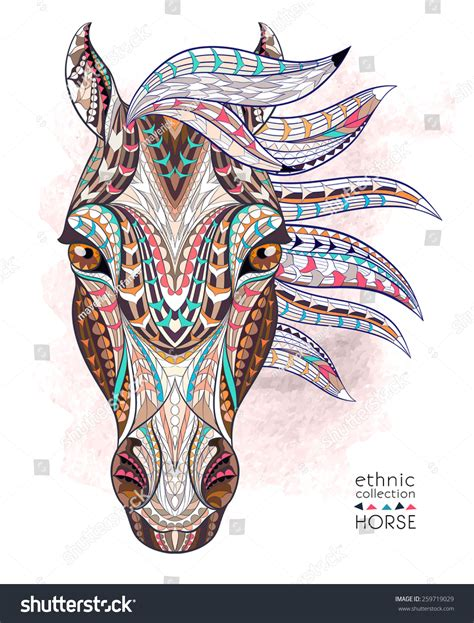 the gallery for gt indian horse head tattoos