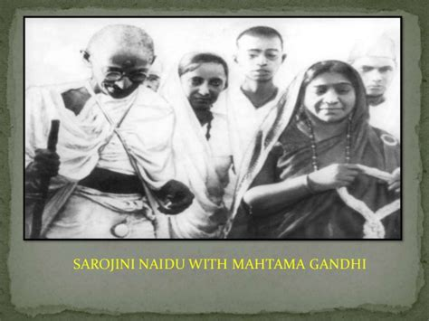 gandhi bio poem biography on sarojini naidu www jobsnstudyportal in