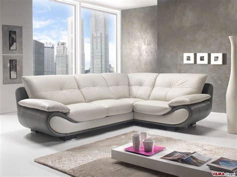 divano angolare divano ad angolo retto in pelle modello new zealand