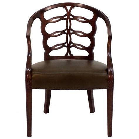 Open Back Chair Carved Open Back Chair For Sale At 1stdibs