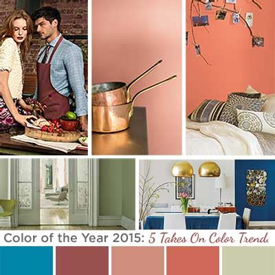 color of the year 2015 color of the year 2015 five takes on color trends