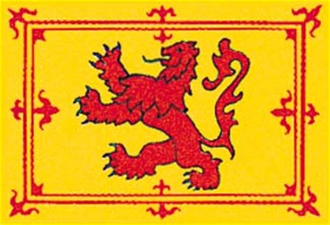 flags of the world lion scottish lion flag