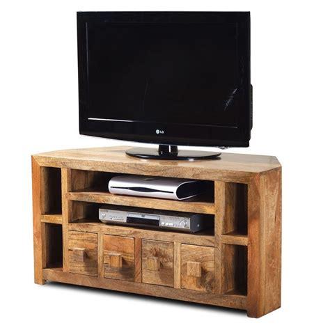 mobile d angolo mobile porta tv etnico legno ad angolo mobili su misura
