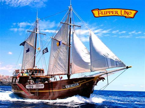 barco pirata los gigantes flipper uno tenerife