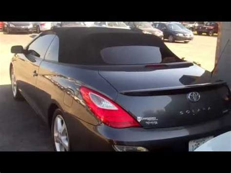 used 2007 toyota camry solara sle for sale convertible