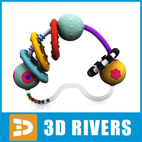 rattle ds fitzroy 1 3ds max baby rattle toys