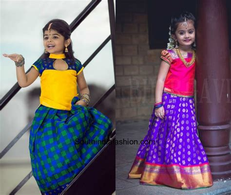 kids designs kids lehengas fashion trends south india fashion