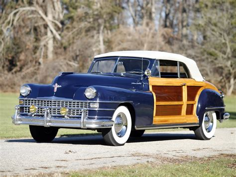 1947 Chrysler Town And Country by 1947 Chrysler Town Country Convertible Retro H Wallpaper