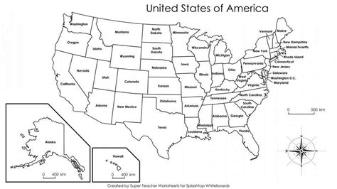 printable map of the united states black and white map of usa labeled my blog