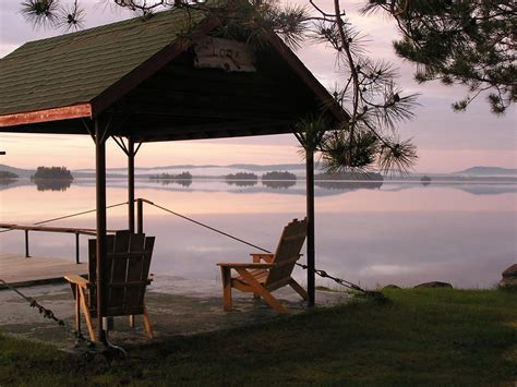 Maine Lake Cabin Rentals by Maine Rafting Trips Rafting America