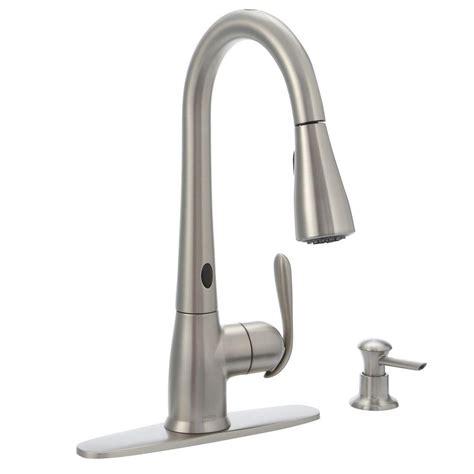 touch sensor kitchen faucet moen touch sensor kitchen faucet