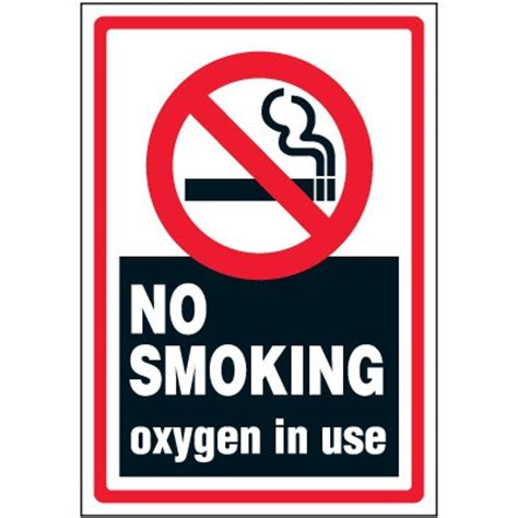 no smoking oxygen signs printable oxygen signs free clipart best