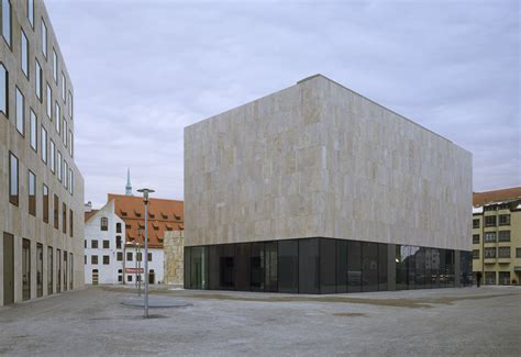 Sockel Architektur by Das J 252 Dische Zentrum Am Jakobsplatz Muenchenarchitektur