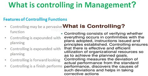 controlling definition notes on lesson on controlling kullabs com