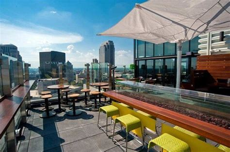 top bars in st louis 360 st louis rooftop bar picture of hilton st louis at the ballpark saint louis
