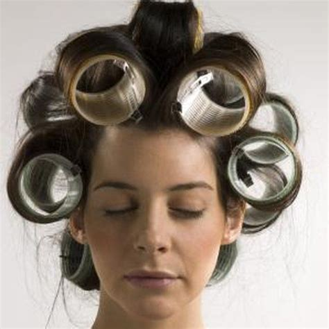 perm using large rollers 1930 best images about hair curlers and hair rollers and