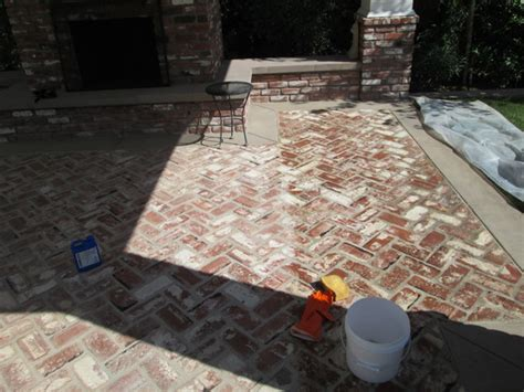 Acid Wash Brick Fireplace by Brick Cleaning Services Bricks Floors Los Angeles Brick
