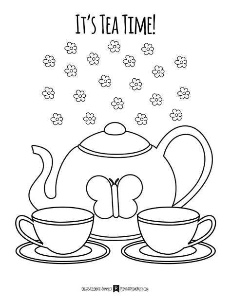 tea coloring pages tea coloring page cosmo scope