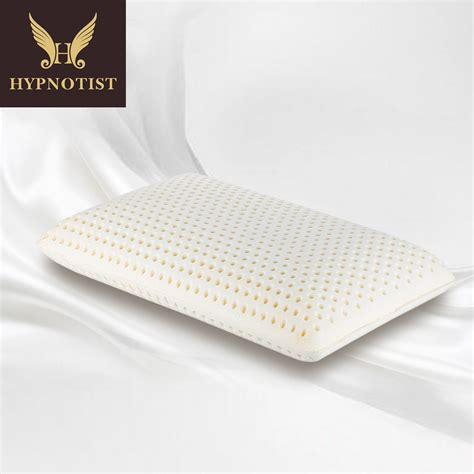 latex bed pillows talalay ventilated natural latex bed pillow standard shape