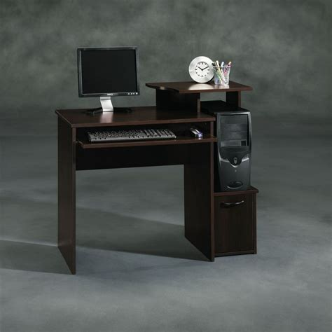 sauder beginnings computer desk cinnamon cherry finish sauder computer desk cinnamon cherry review