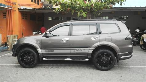 mitsubishi pajero sport modified simple modification mitsubishi pajero sport tupanx blog
