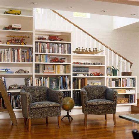 Bookcase Under Stairs Bookcase Under Stairs Casa Pinterest