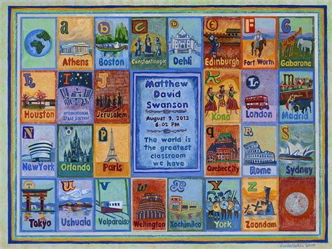 Story Quilt by Lori Loebelsohn 187 Story Quilts