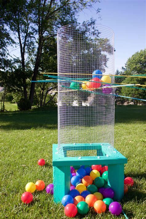 diy giant outdoor kerplunk homemade outdoor games diy