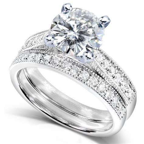 cheap discount engagement ring and wedding band