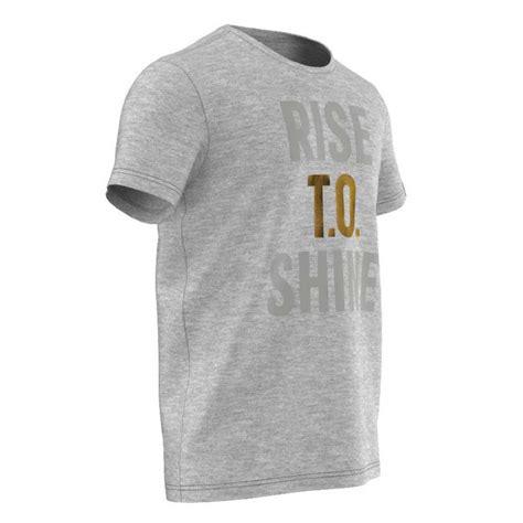 Shine Tshirt adidas rise to shine t shirt buy and offers on goalinn