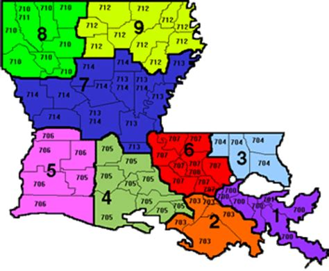 la zip code map louisiana zip code map map
