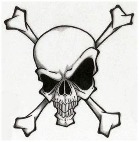 easy tattoo of skull evil skull tattoo designs cliparts co