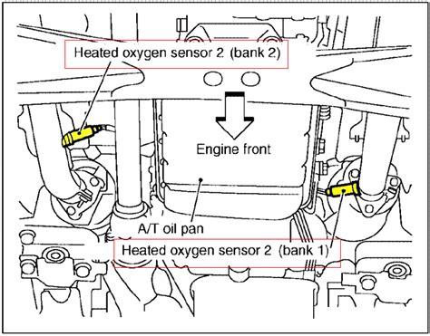 397 Egr Sensor Nissan X Trail 2 0 T31 2000 2004 nissan xterra oxygen sensor o2 sensor location