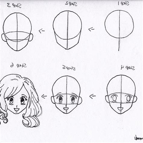 Drawing Anime Characters Step By Step how to draw anime characters step by step for beginners