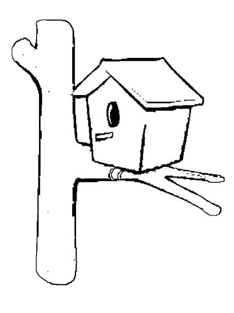 easy bird coloring page simple bird house coloring pages best place to color